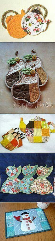 Coasters, pot holders
