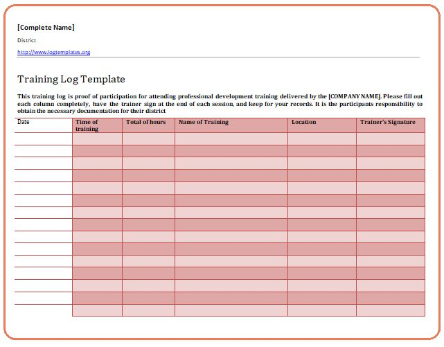 Change Log Template Sample Daily Log Template Free Documents In Pdf