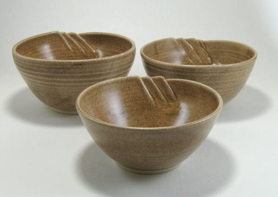 Fluted Bowls for the 3 Bears by GlyntPottery on Etsy, $40.00Etsy Mud, Mud Team