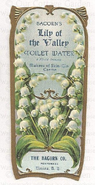 vintage perfume label images   Antique PERFUME Labels * ROSES & LOV   Our Cottage Garden