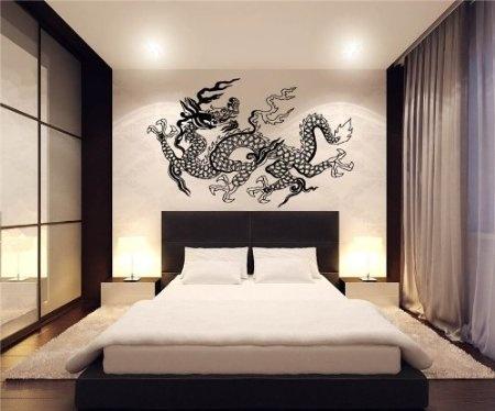 Japanese Dragon Wall Decor Vinyl Decal Sticker D 39: Home U0026 Kitchen Can Get