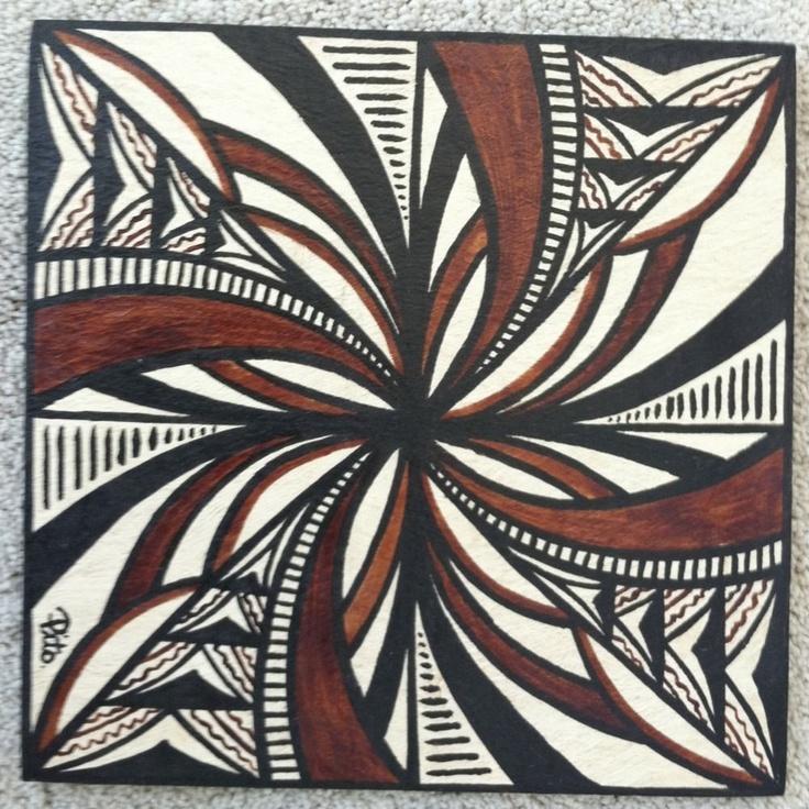 Samoan Siapo (Tapa)