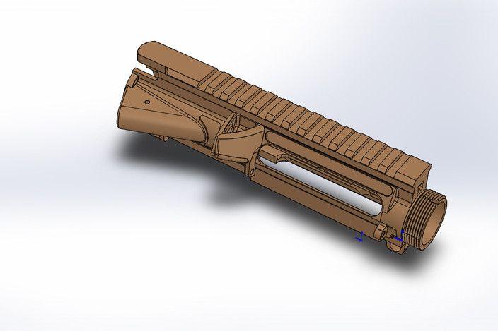 3d Print AR15 Upper Receiver