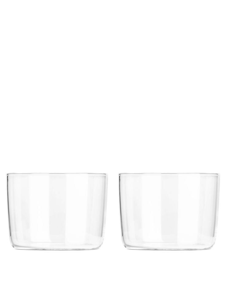 """<p style=""""text-align: justify;"""">This stackable, everyday glass comes in a pack of two, and holds drinks just as well as it does desserts. It is part of a se"""
