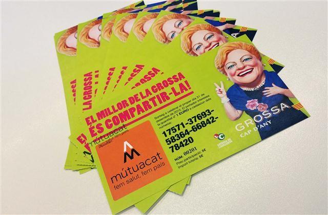 ELS DE MÚTUACAT ENS VAM ENCOMANAR A LA GROSSA DE NADAL [2d2]    Aquest dimarts, 24 de novembre, vam rebre la visita de la Grossa de Catalunya. Amb ella vam recórrer tot el centre de Manresa!  A Mútuacat encara tenim butlletes per vendre. No us despisteu!