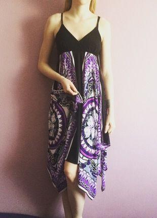 Kup mój przedmiot na #vintedpl http://www.vinted.pl/damska-odziez/dlugie-sukienki/12999359-zwiewna-kolorowa-sukienka-z-melrose