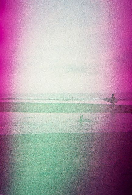 Spot II. Taken using a Blackbird, Fly camera loaded with Konica Centuria Chrome 200 (expired) film. #lomo #lomography #zambales #pink #beach #weekend #analogue #analog #film #sea #sun #october #2011 #surf #surfing #surfer #philippines #pilipinas #travel