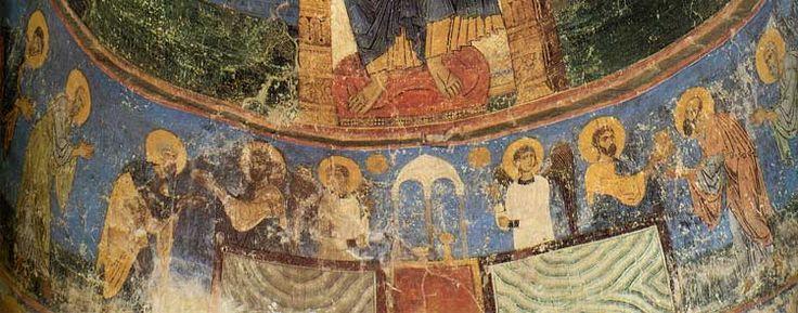 Спасопреображенский собор Мирожского монастыря. Псков. Евхаристия