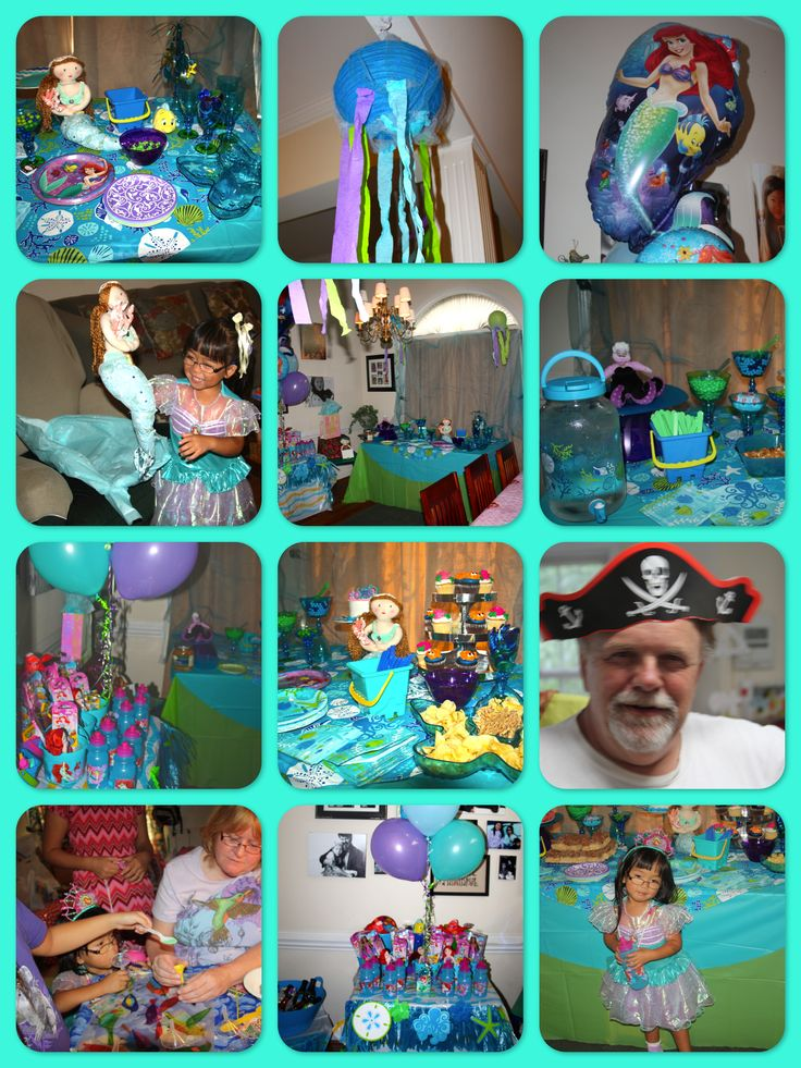 17 best images about little mermaid party on pinterest for Ariel decoration party