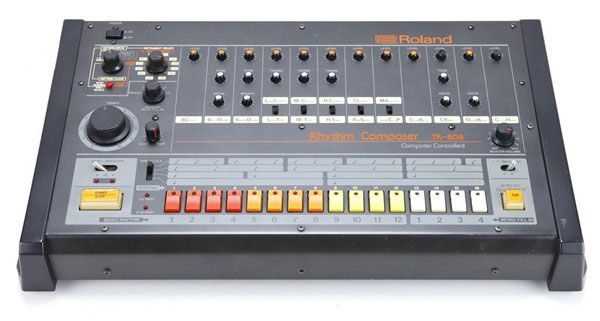 The TR-808 is a classic drum machine that uses analog synthesis to create its sounds.