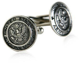 US Army Cufflinks Silver With Gift Box Cuff-Daddy. $29.99. Made by Cuff-Daddy. Arrives in hard-sided, presentation box suitable for gifting.. Proudly MADE IN THE USA. Save 57% Off!