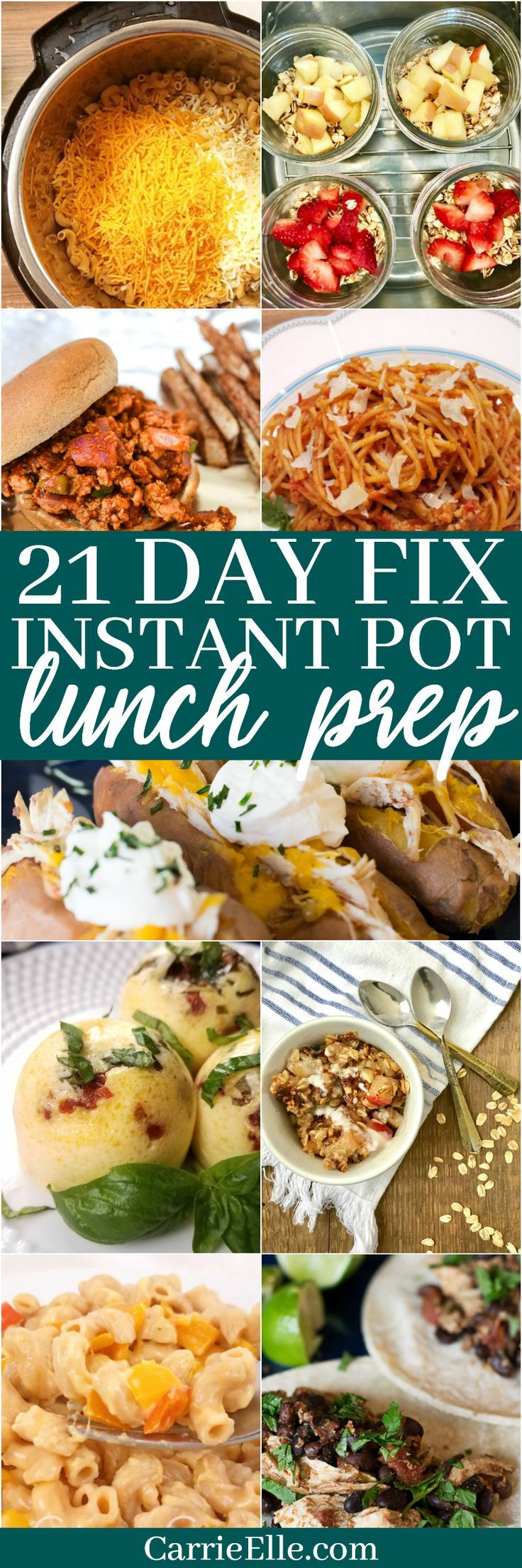 21 Day Fix Instant Pot Lunch Prep