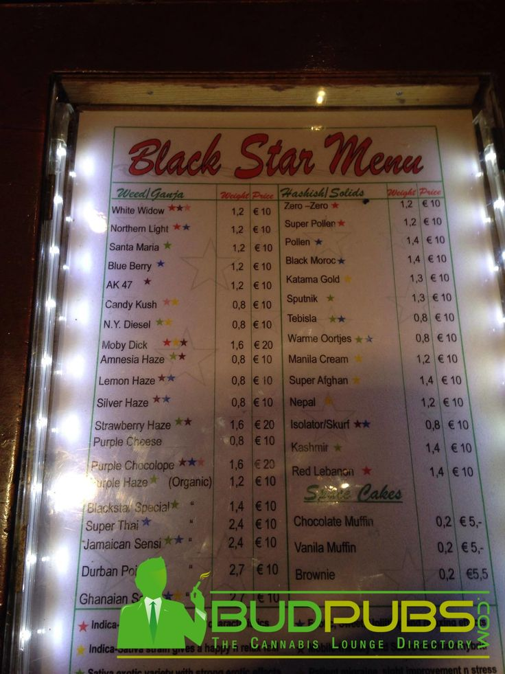 SMOKE WEED SOCIALLY at Black Star Coffeeshop in Amsterdam! #Weed #Cannabis #Marijuana #Amsterdam #Coffeeshops #WeedMenu