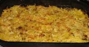 zapečená špagetová dýně