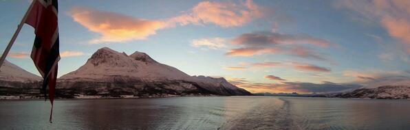Beyond words.. Between Finsnes and Tromsø. Norway. Hurtigruten. The worlds most beautiful seavoyage