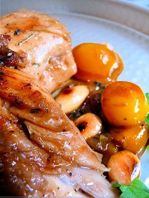 Yeux friands et Bouche bée...: Tajine de poulet aux mirabelles