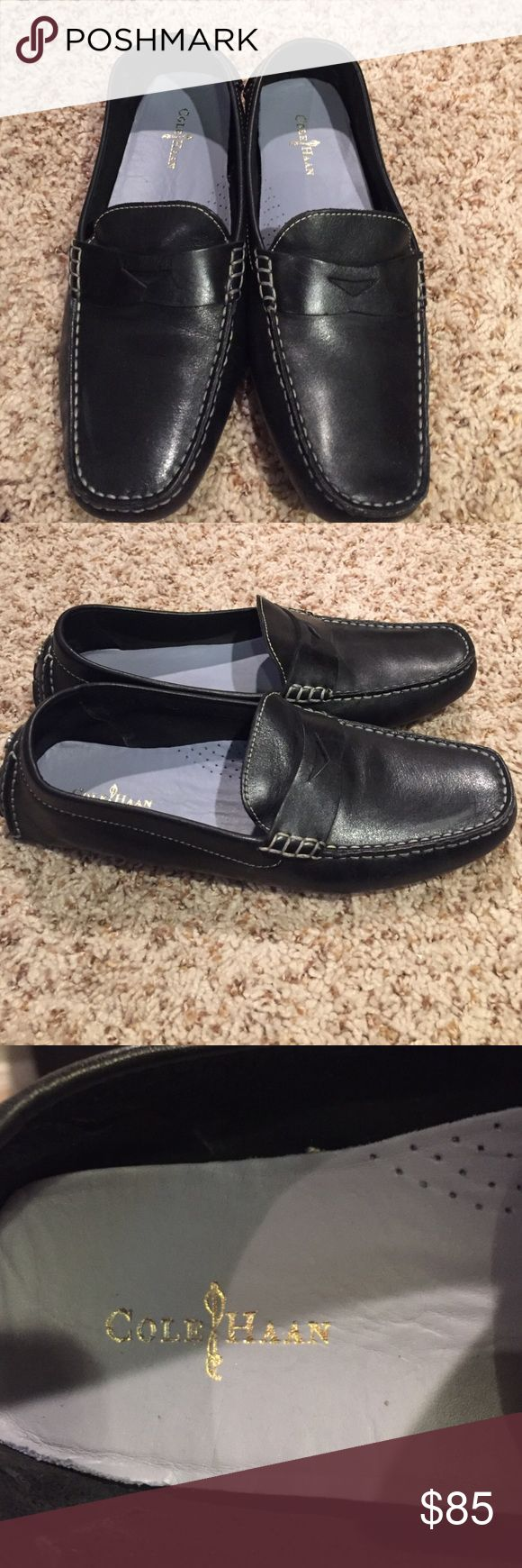 Cole Haan Trillby Driving Loafers--Womens Black loafers, like new! Only worn once. Cole Haan Shoes Flats & Loafers