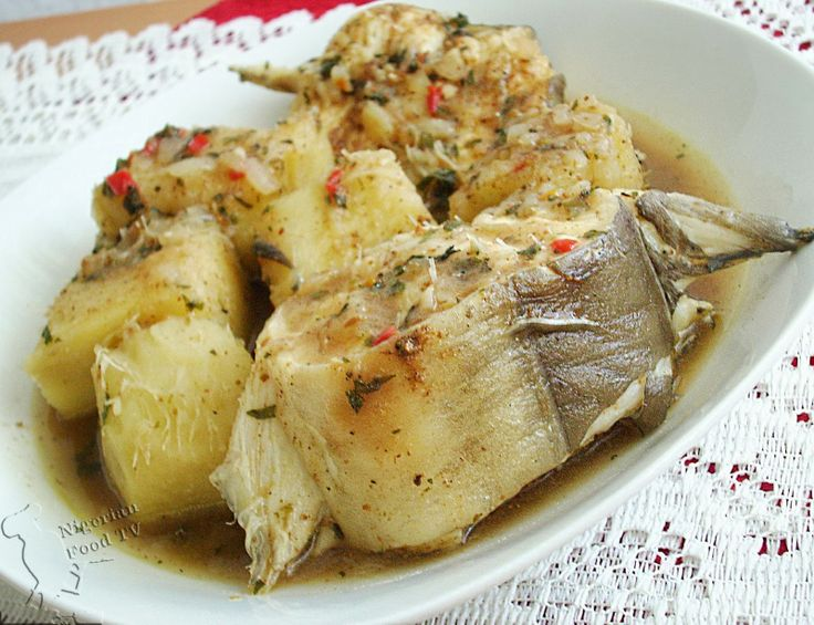 Nigerian Yam and Fish Pepper Soup
