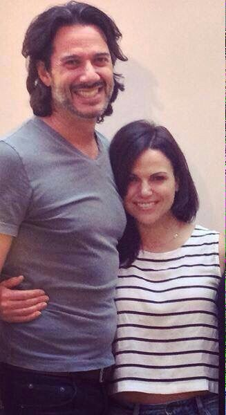 Lana Parilla and Fred Di Blasio