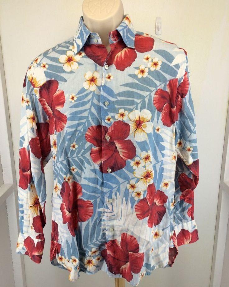 Tommy Hilfiger Long Sleeve PURE LINEN Shirt ~ NAVY