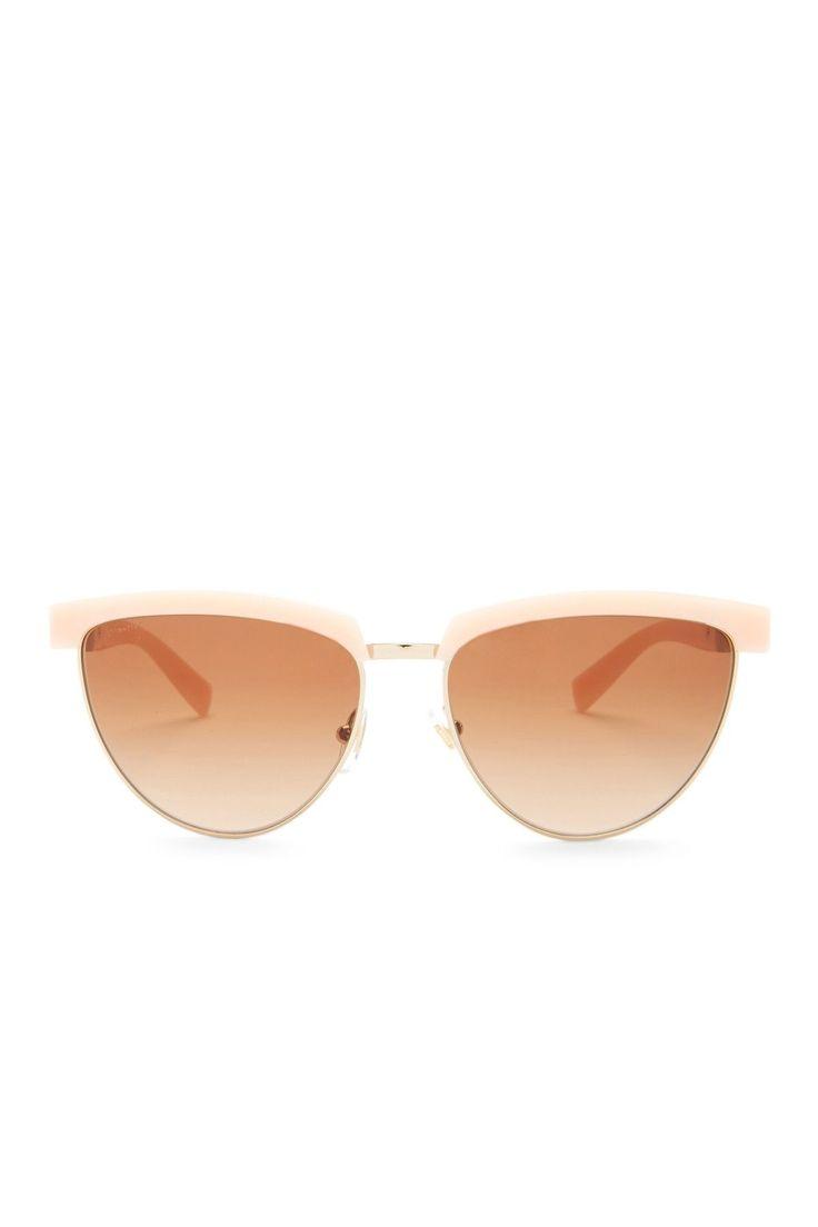 Women's Cat Eye Clubmaster Sunglasses