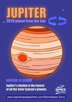 JUPITER PLANET ( Solar System > ROTATION )
