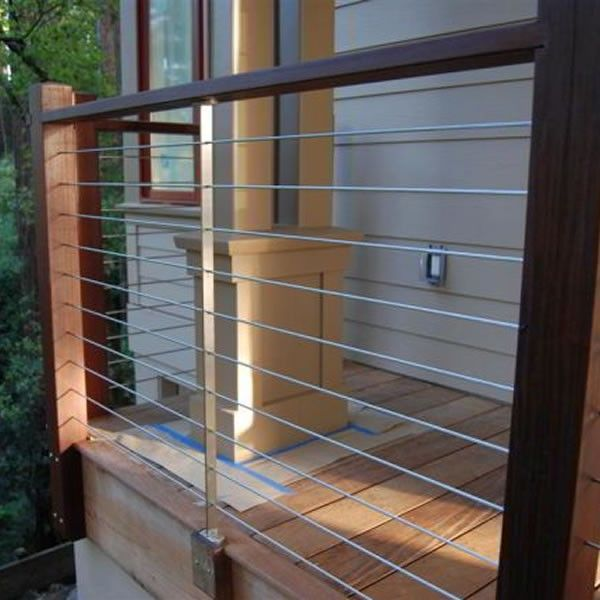 Cable Deck Railing Systems : Types Of Cable Deck Railing