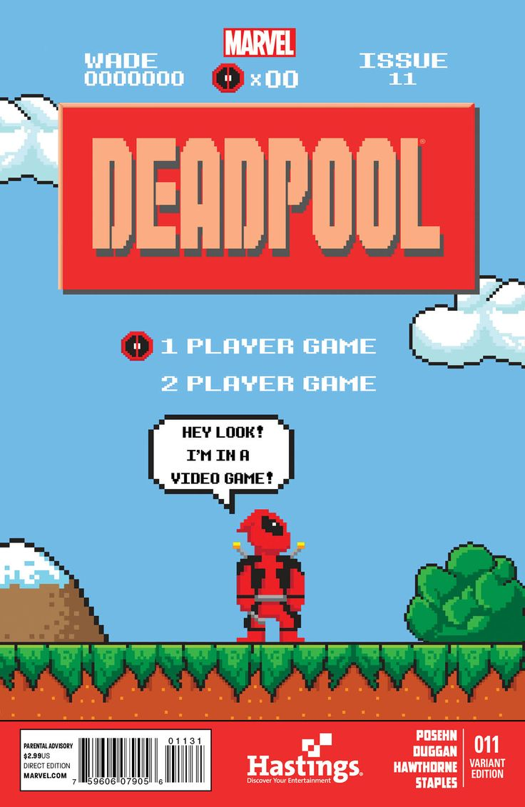 8 bit Deadpool! :o)