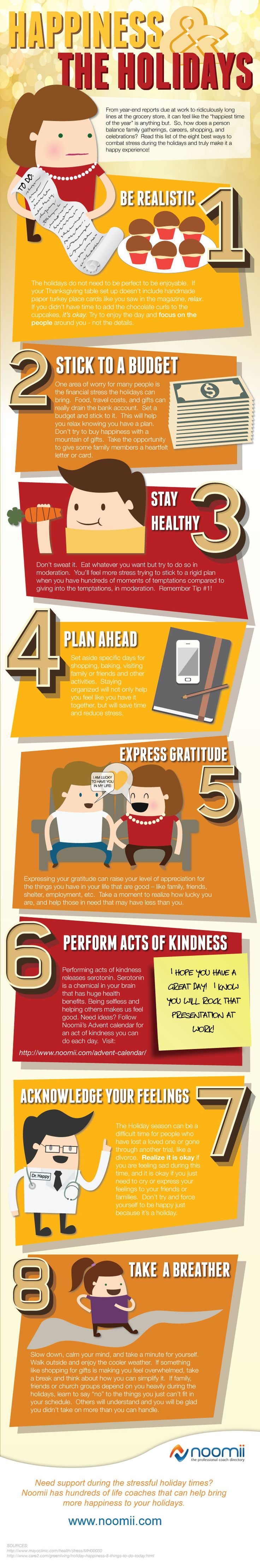 How To Deal with Holiday Stress #Infographics — Lightscap3s.com