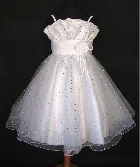 """Φορέματα για Παρανυφάκια - Επίσημα Φορέματα για Κορίτσια :: Μοναδικό Παιδικό Φόρεμα σε ΛΕΥΚΟ για βάφτιση, Παρανυφάκι, Πάρτι """"Dolly-Ann"""" - http://www.memoirs.gr/"""