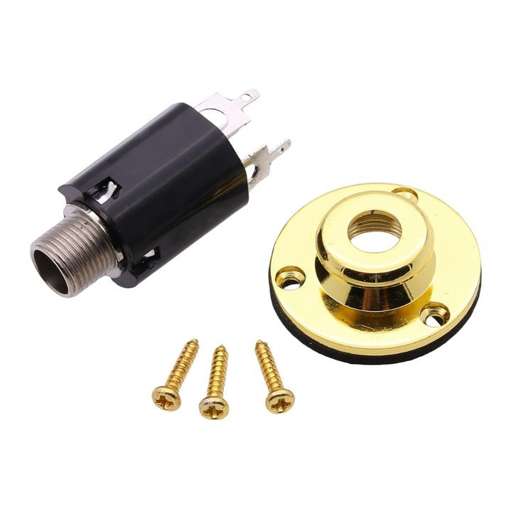ROCKET High Quality Electro-Acoustic Guitar End Pin Stereo Jack Socket -Support Wholesale-Free Shipping