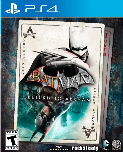 Watch the trailer for the remastered Batman: Arkham Asylum & Arkham City here