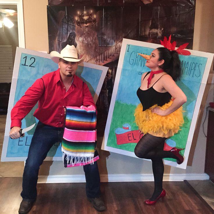 El Valiente and El Gallo from Loteria! Halloween 2015