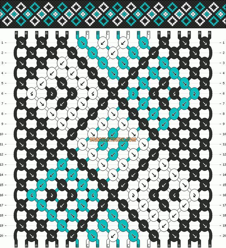 http://www.braceletbook.com/pattern_normal/10856.html .. http://www.braceletbook.com/pattern_normal/10750.html .. http://www.braceletbook.com/pattern_normal/10263.html .. http://www.braceletbook.com/pattern_normal/10138.html