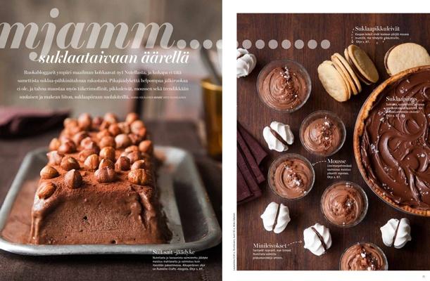 Nutella. Styling Sanna Kekalainen, photo Arto Vuohelainen. Glorian ruoka ja viini magazine