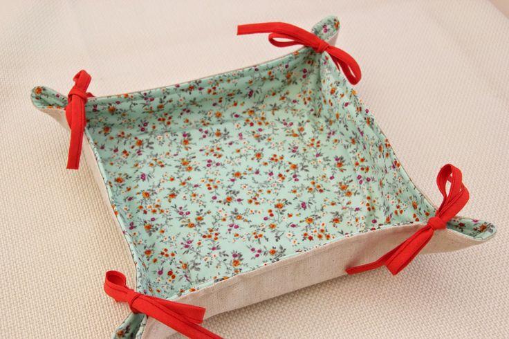 Clase de costura 8. Costura práctica: cómo hacer una panera de tela.