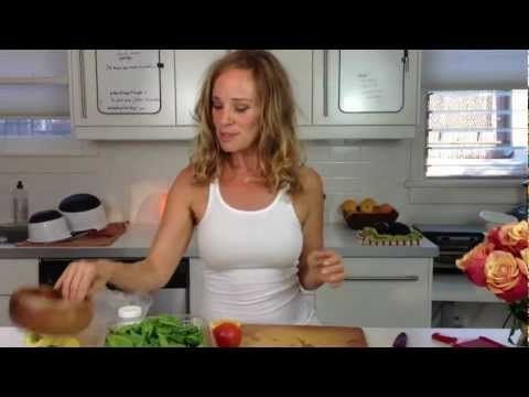 lose weight, inflammation and indigestion with this raw Turmeric salad - YouTube