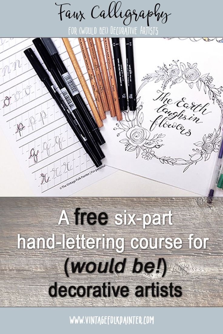 Best 25 Calligraphy Course Ideas On Pinterest