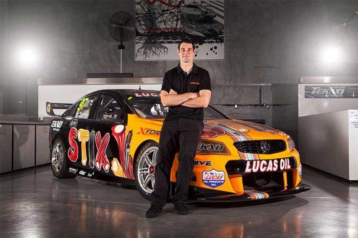 Shane Van Gisburgen's new car 2015