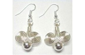 Easy Beginner Wire Work Earrings Tutorials - The Beading Gem's Journal