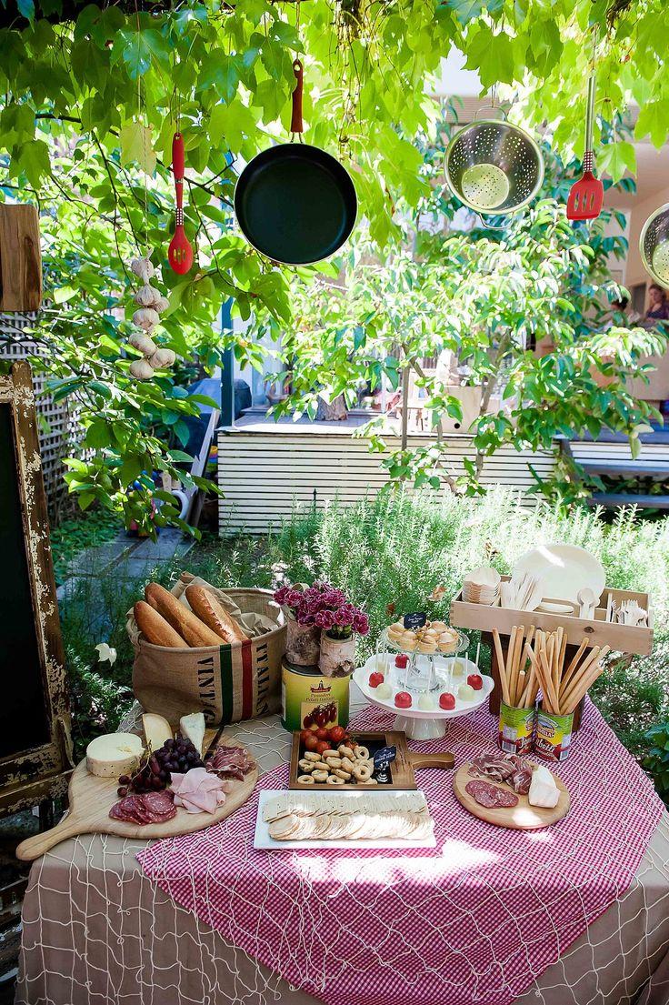 8 besten italienische party bilder auf pinterest italienische party italienischer abend und. Black Bedroom Furniture Sets. Home Design Ideas