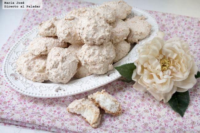 Mostachones de coco receta dulce para san valent n postres - Dulces de san valentin ...
