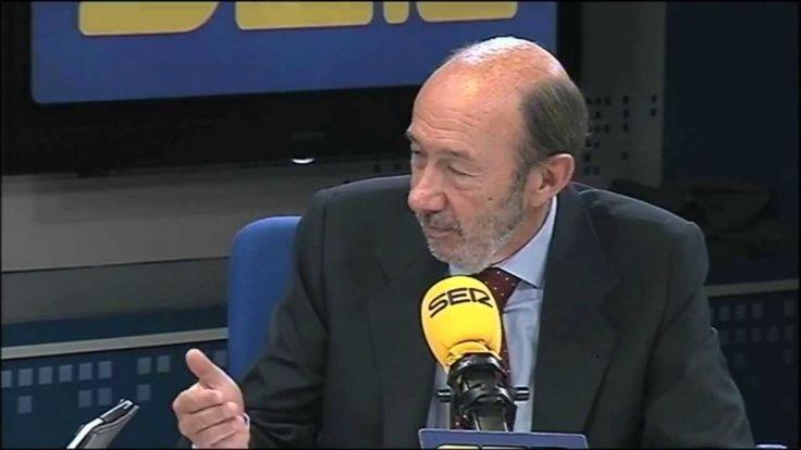 Entrevista radiofónica a Alfredo Pérez Rubalcaba 040913