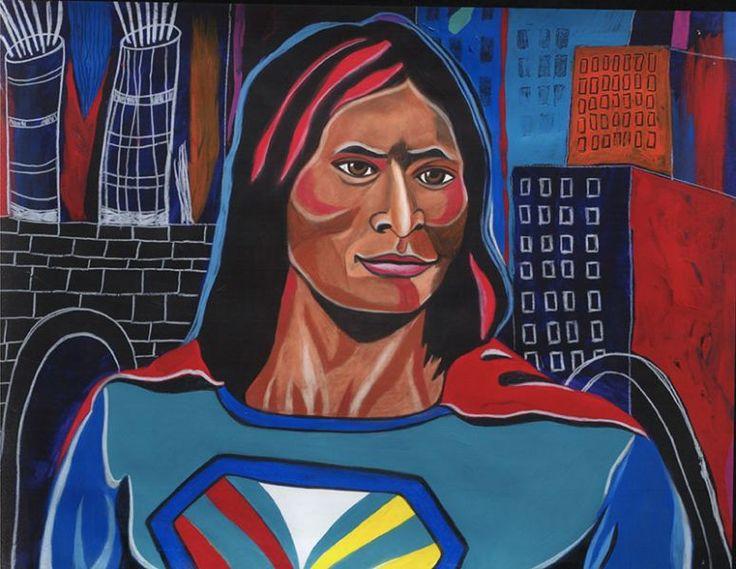 Gallery   George Littlechild - Canadian First Nations Artist kK