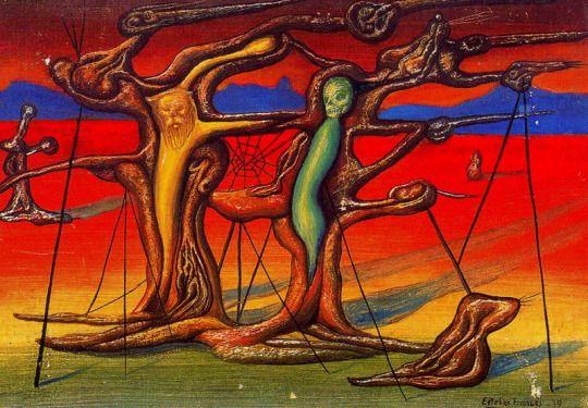 Untitled by Esteban Frances, 1939. Oil on canvas.