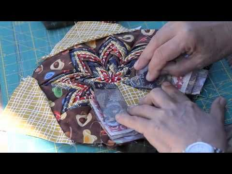 72 best Folded Star Pattern images on Pinterest | Tutorials ... : folded star quilt block - Adamdwight.com