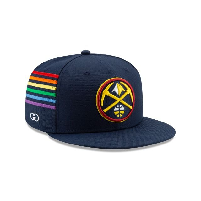 Denver Nuggets Grungy Gentleman 59fifty Fitted Fitted Hats Denver Nuggets New Era Cap