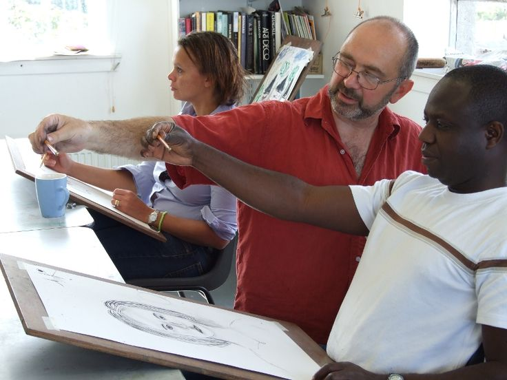 Bryan Angus teaching at The Creative Retreat