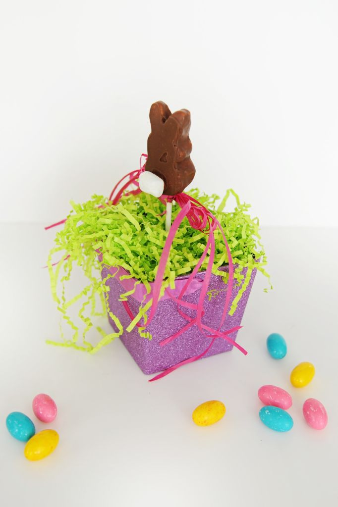 DIY Chocolate Covered Peeps with Marshmallow Bunny Tails - Entertain | Fun DIY Party Craft Ideas