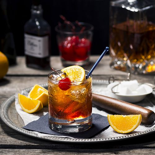Hazel's Brandy Old Fashioned, Sweet | The Brandy Old Fashioned is a classic Wisconsin cocktail. Here's how top bartender Misty Kalkofen's mom in Green Bay likes hers. | Liquor.com